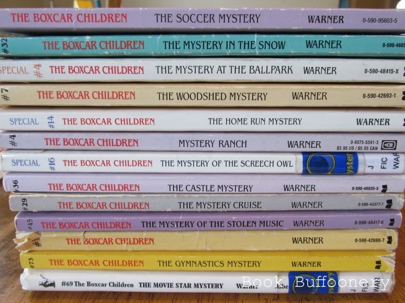 Books We Own The Boxcar Children Series Book Buffoonery